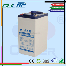 Fast shipping best price free maintenance nano 2v 400ah gel battery