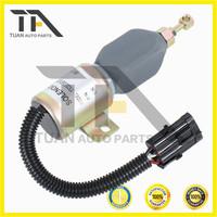 Excavator electric parts Diesel Engine Stop Solenoid Valve 1752ES-24E7UC3B1S7,1752ES-12E7UC3B1S7 397A-115030 LB-A5063 12V 24V
