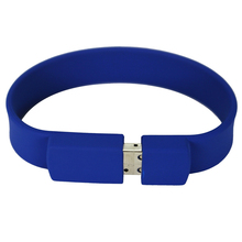 Custom logo Silicon Bracelet Wrist Band USB Flash Drive USB 2.0 Flash Stick Pen Drive
