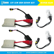 CE approval factory supply slim xenon hid kit for car accessories 12V 35W 355W auto lamp headlamp driving light