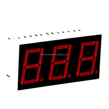Right Blue led 7 segment display 0.40 inch ditital signage display 3 digits and 7 segment led display for segment signage clock