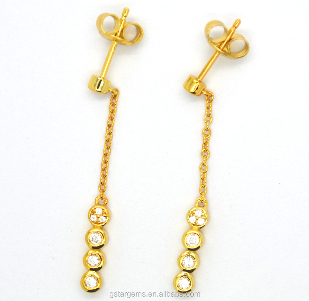 2015 Hot Fashion Latest simple earring designs for women