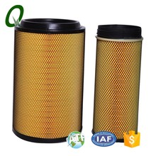 Industrial air filter cartridge truck spare parts for FAW/Foton/JAC/Dongfeng