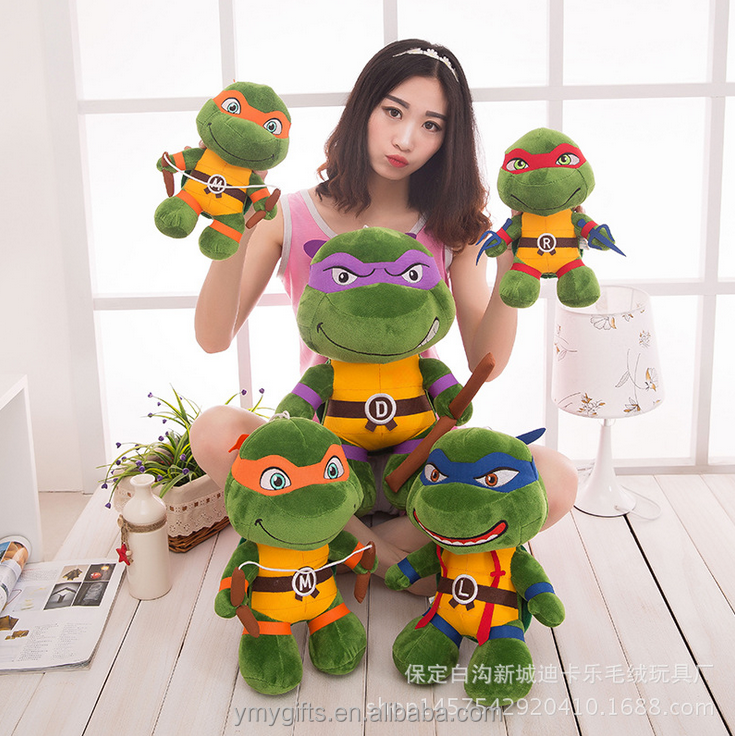 personalized dolls Weapon Q Edition Ninja Tortoise Plush stuffed Turtle toys