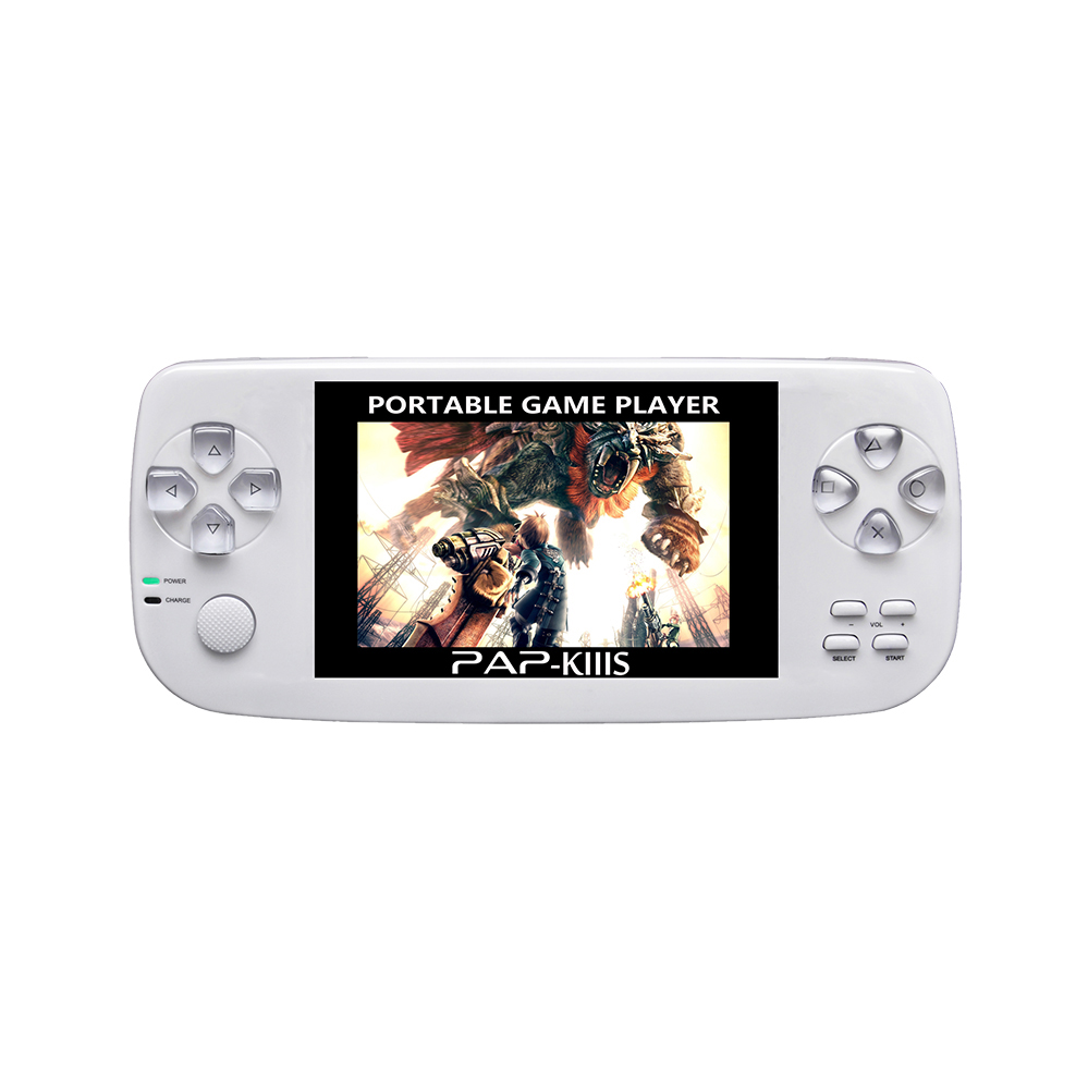 3.5'' HD screen video game console with 600 gba gbc neogeo cp1 games