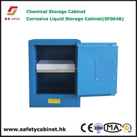 Lab table top Chemicals acid corrosive safety Cabinet with PP tray