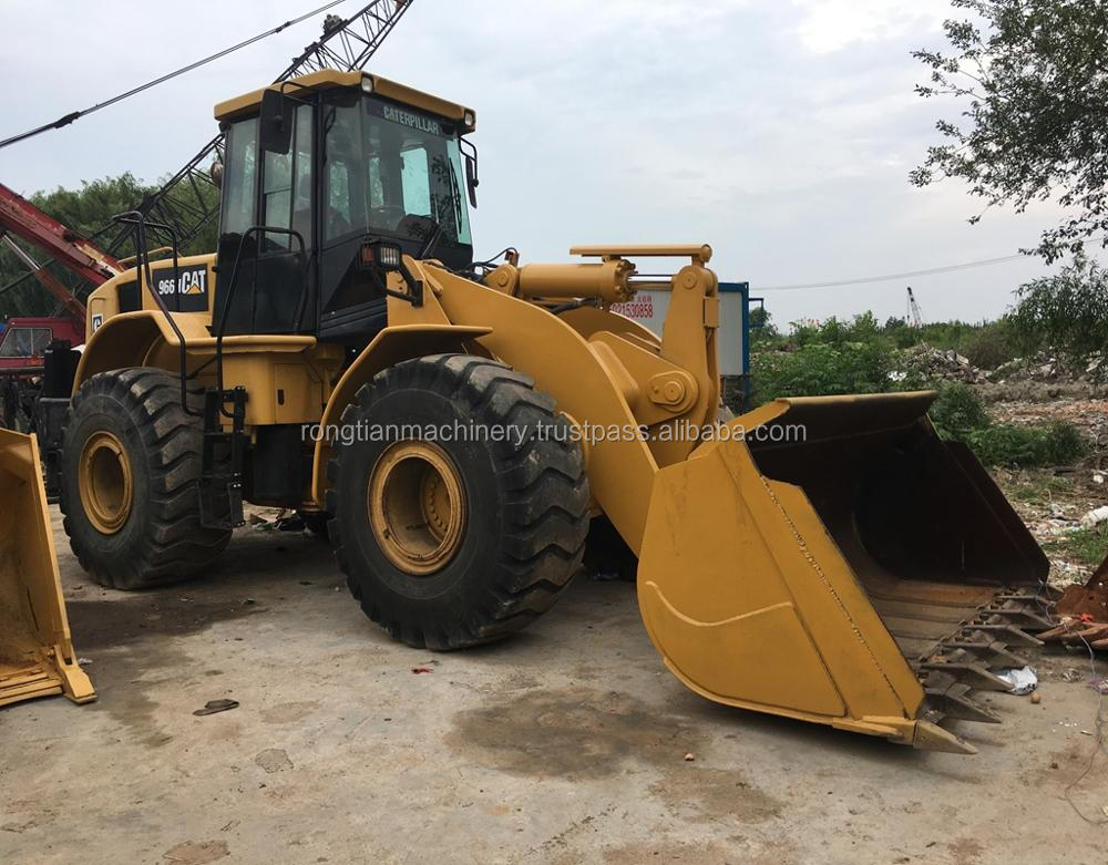 Good quality used caterpillar wheel loader 966H for sale/ cat loader with low price
