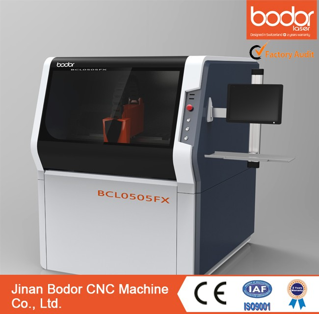 Bodor 500x500mm small metal cutting laser machine with manufacture price