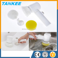 Three-in-one Electric Cleaning Brush Multifunctional Bathtub Brush Kitchen Cleaning Good Helper Cleaner Brush