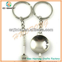 Made in china Customized promotion laminated valet key chain