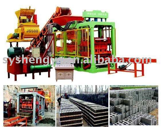 QT6-15 Fully-Automatic Block Making Machine,interlocking brick machine,paverment brick machine