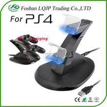 Dual LED USB Fast Charging Charger Station Dock Stand For Sony PS4 Controller Charger