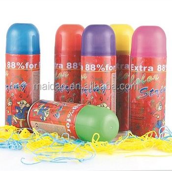 party string spray for Christmas Decoration