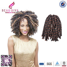 expression synthetic braiding hair Hot selling ebony soft dread lock synthetic braiding hair