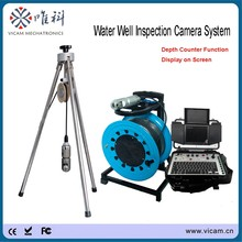 Underwater 30m to 100m soft cable Heavy-Duty CCTV PT Vertical Video Inspection Camera for Underwater Wells V8-3288PT-2