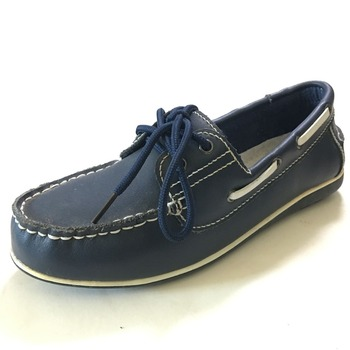 Leather Handmade Lace Up Smart Loafer Moccasin Comfort Boat Shoe