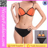 No MOQ Orange Black Micro Sexy Women Bikini