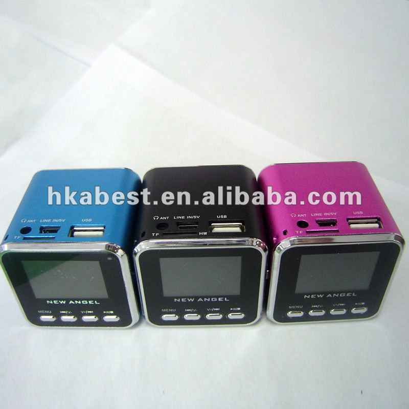 Portable Mini Pocket Music USB Speaker for Micro SD TF Card MP3 MP4 Player IPod PC Laptop