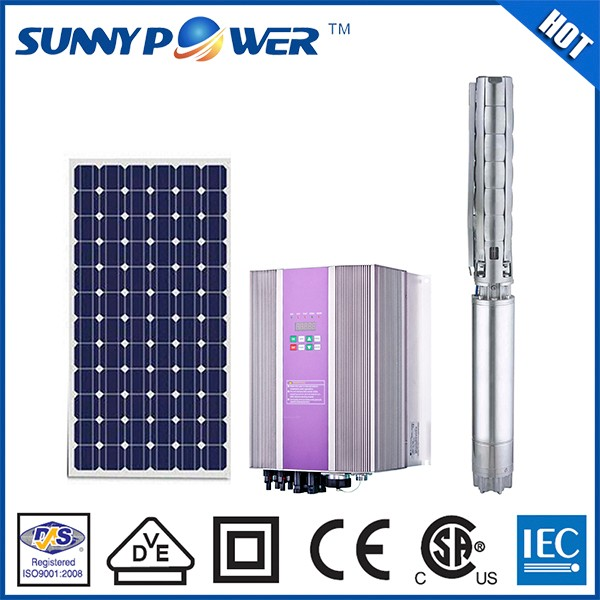 solar power irrigation system/ hot sale cheap solar water pump