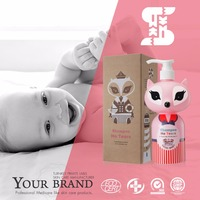 Sassi Baby Eco Printing Packaging Natural Enzyme Organic Hair Baby Care Brand Shampoo
