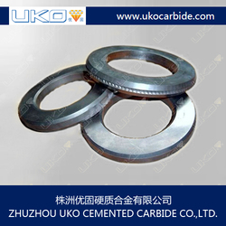 steel wire rod plant applied Tungsten carbide ribbing rolls
