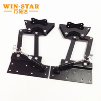Wholesale foldable reclining table desk hinges