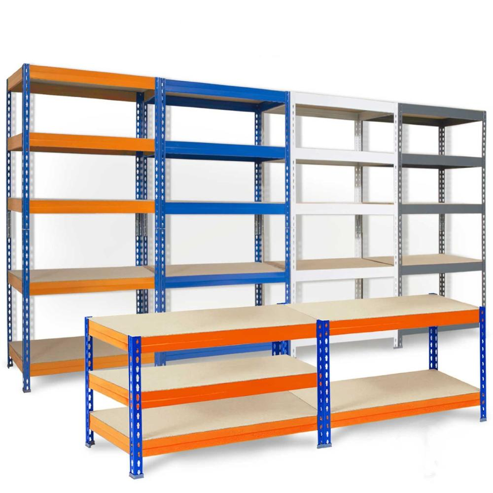 5 Tier metal <strong>rack</strong> boltless garage warehouse shelving storage <strong>rack</strong>