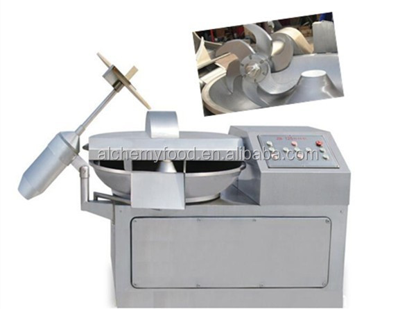 Variable frequency vacuum high-speed meat chopper machine
