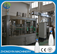 Automatic mineral water bottle washing filling capping machine