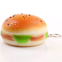 OLEEDA stress reliever big sesame burger scented super slow rising squishy toys squishy jumbo for kids squishy factory