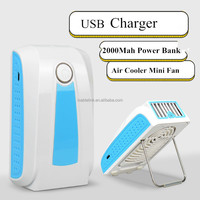 New Portable Rechargeable Mini USB Fan Air Conditioner Cooling Fan Handheld Cooler Mini Fan
