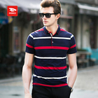 Customized High-quality Stylish blank striped t-shirts for men