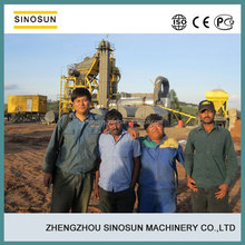 China 80t/h mobile asphalt plant manufacturer at competitive price