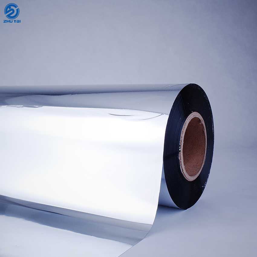 Silver polyester pet print film oem for floor heat insulation