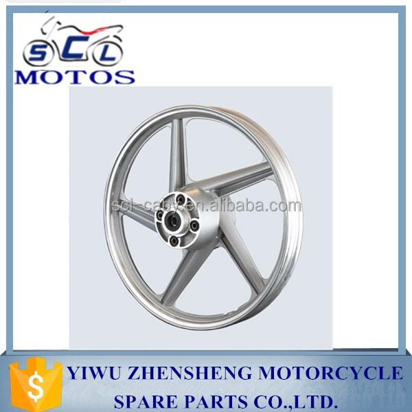SCL-2013030249 WY125 motorcycle parts used aluminum alloy wheels