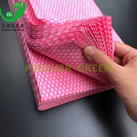 Disposable nonwoven cleaning dry wipes
