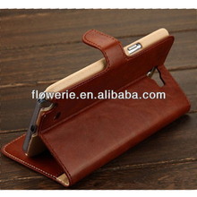 FL3195 Guangzhou new product card holder flip leather case for samsung galaxy note 2 n7100