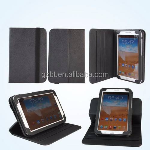 for samsung galaxy note 8 tablet case,Multifunction 360 Degree Rotating PU leather protective tablet universal case
