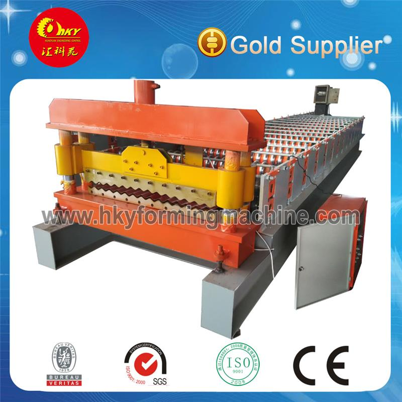 Botou HKY pc roof tile making machine with CE certificate