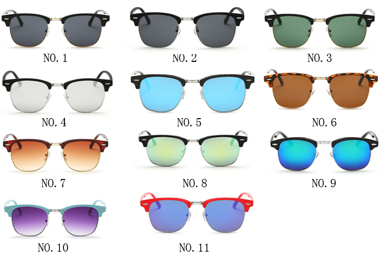 Luxury UV400 Men Polarized Shades Sunglasses Brand Designer Driving Eyeglasses Sun glasses