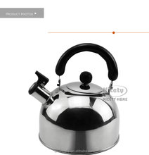 2L stainless steel whistling large water kettle for family camping