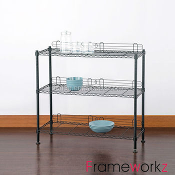 light duty storage wire shelves buy cheaper wire shel. Black Bedroom Furniture Sets. Home Design Ideas