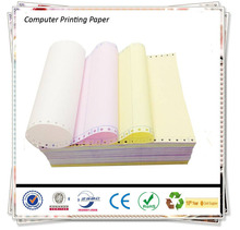 Cheap CB CFB CF 3-Ply NCR Computer Form Paper/NCR 2 Ply Continuous Carbonless Printing Paper/4 ply NCR Carbon-less Paper