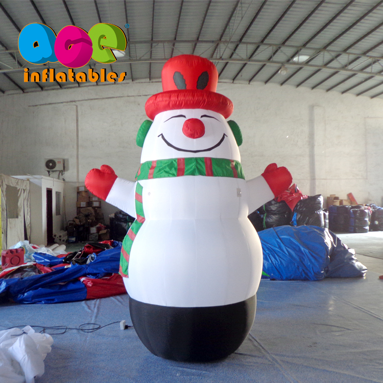 Hot sale customized activity decorations inflatable snowman