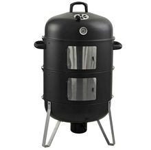 Large cooking area verical smoker bbq charcoal grill barbecue grills