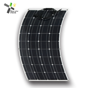 high efficiency marine semi sunpower 100 watt flexible solar panel with etfe surface