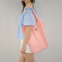 Customize Reusable Eco-freind Cheap Promotion Shopping Canvas Tote Bag