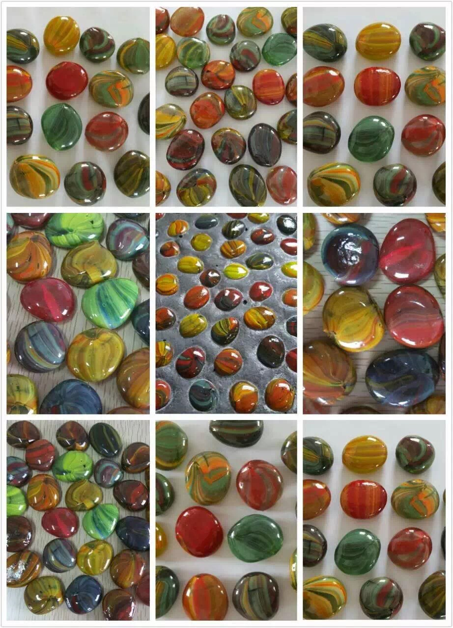 garden glass pebbles
