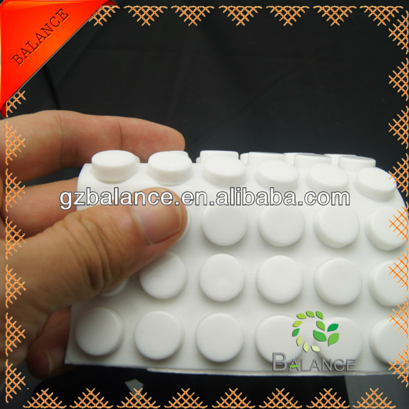 sticky durable anti-slip pad rubber feet