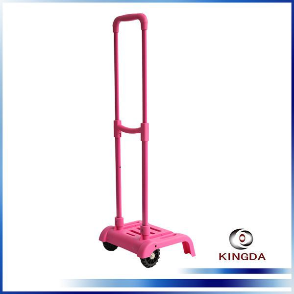 KINGDA wholesale cheap fashion luggage trolley parts accessories